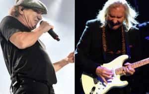 AC/DC's Brian Johnson, Eagles' Joe Walsh Making Music Together