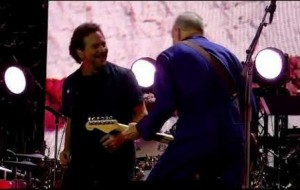 Watch The Who Play 'The Punk and the Godfather' With Eddie Vedder at Wembley Stadium In London.