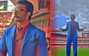 Arsenal tweeted a Video of Ranveer Singh rapping   during Premier League clash at Emirates Stadium