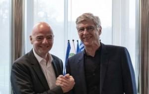 Arsene Wenger: FIFA announces former Arsenal manager for senior role