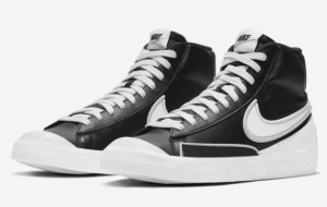 Nike Blazer Mid '77 Infinite Black White 2021 New Arrival DA7233-001