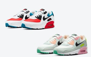 "Nike Air Max 90 ""Firecracker"" DD9795-100 /""Easter"" CZ1617-100 2021 New Released"