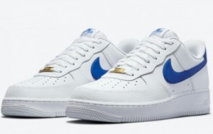 Nike Air Force 1 Low White/Royal Blue 2021 New Arrival DM2845-100