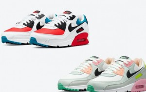 """Nike Air Max 90 """"Firecracker"""" DD9795-100 /""""Easter"""" CZ1617-100 2021 New Released"""