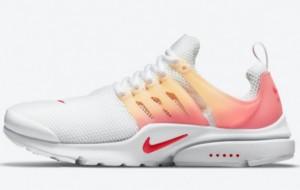 "This Nike Air Presto ""Sunrise"" DM2837-100 shoe looks so good, right?"