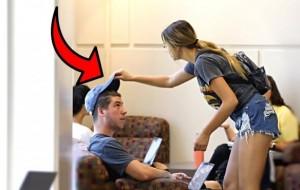 Stealing Guys Hats!!