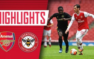 Arsenal 2-3 Brentford Friendly match