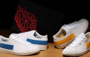 "Air Jordan 1 Centre Court ""Military Blue"" DJ2756-103 & ""University Gold"" DJ2756-102 Which pair do you like?"